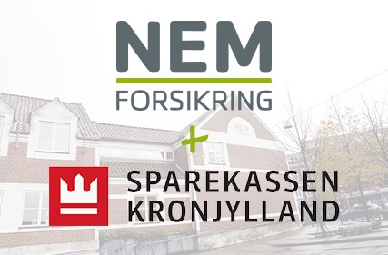 Sparekassen Kronjylland køber sig ind i NEM Forsikring